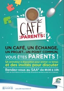 Affiche Café parents nouvels horaires