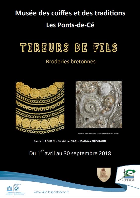 Visites guidées de l'expositionTireurs de fils, broderies bretonnes