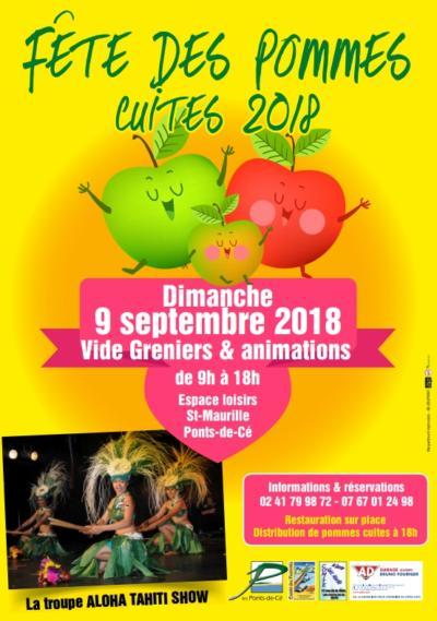 """Vide grenier """"fête des pommes cuites"""""""