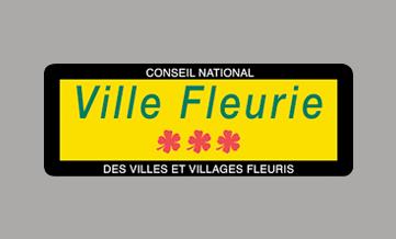 Logo label: ville fleurie
