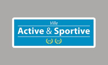 Logo label: ville active et sportive