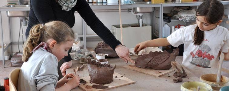 Découverte de l'atelier poterie - Journées Européennes du Patrimoine