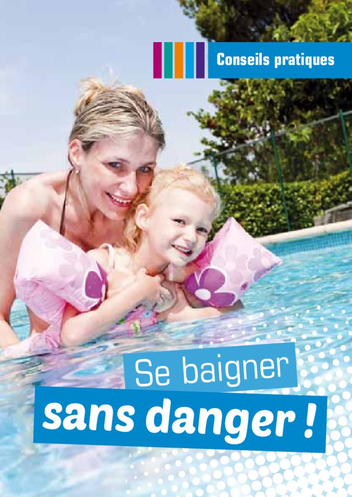 thumbnail of Brochure se baigner sans danger