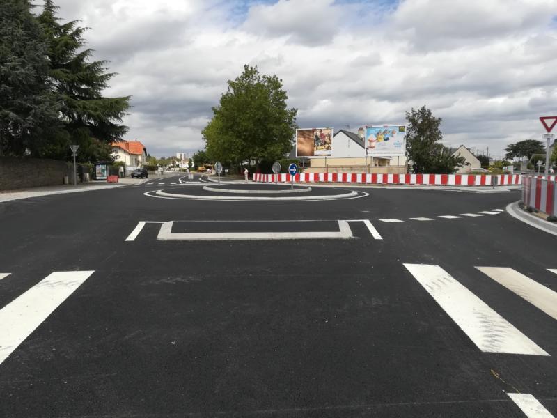 Travaux rue David d'Angers