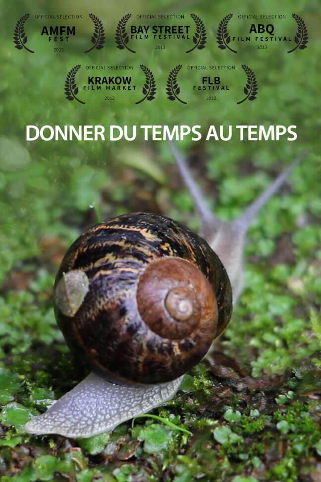 "Film documentaire ""donner du temps au temps"""
