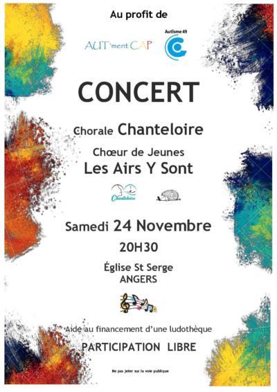 Concert Chanteloire & Les Airs Y Sont