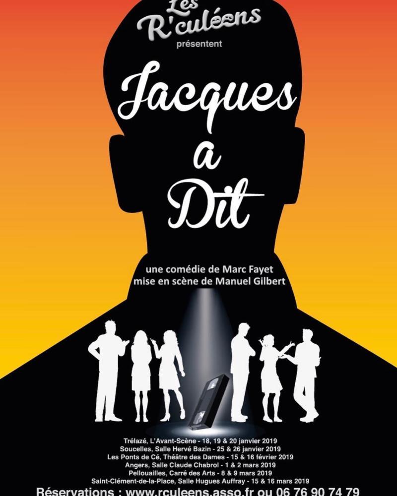 Théâtre : Jacques a dit - Cie LES R'CULEENS