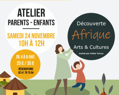 ANNULÉ - Atelier parents enfants - avril