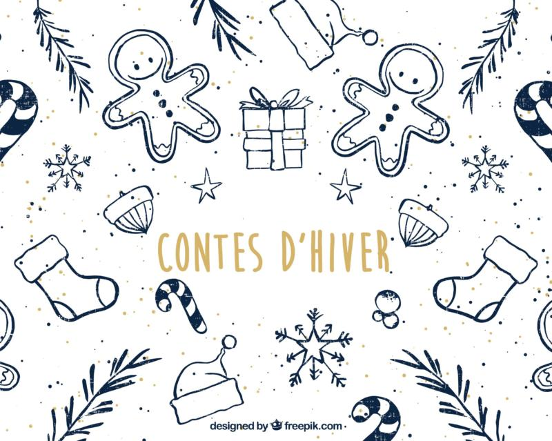 Contes d'hiver pour soirée de Noël