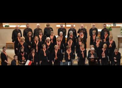 Concert de Choraline, chorale du Centre hospitalier universitaire d'Angers