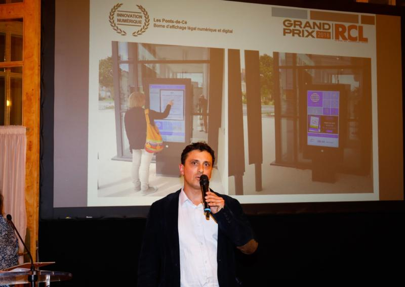 """Grand prix national des Collectivités Locales dans la catégorie """"innovation numérique"""""""