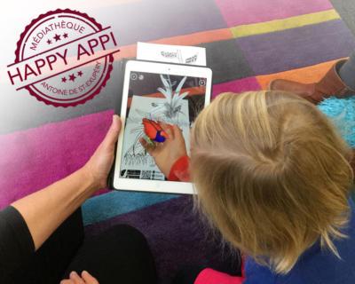 HAPPY APPLI - PIXEL ART