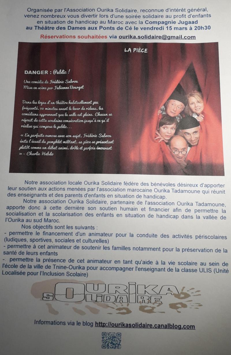 Soirée solidaire  -  Cie JUGAAD