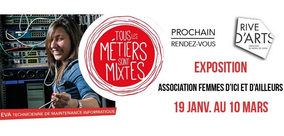 """EXPOSITION «TOUS LES MÉTIERS SONT MIXTES"""""""