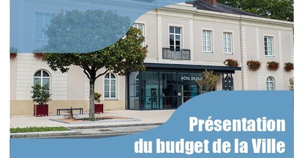 Présentation du budget 2019