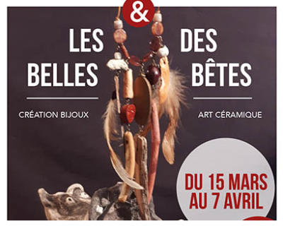 """Exposition """"Les Belles Et Des Bêtes"""""""