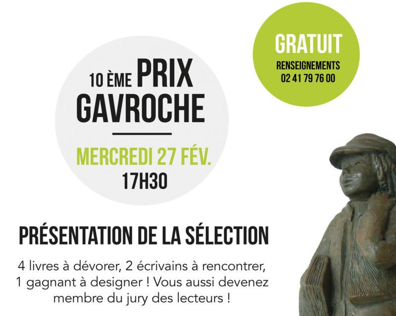 PRIX ROMAN JEUNESSE - 10 ème prix gavroche