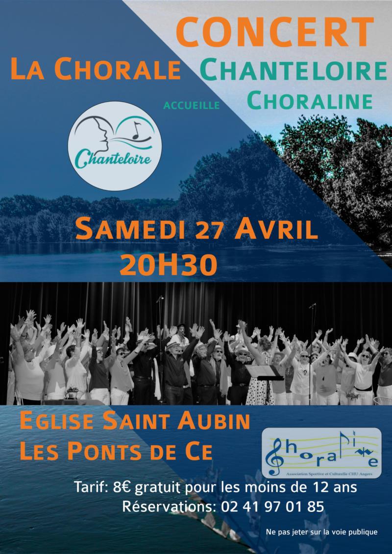 Concert Chorale Chanteloire