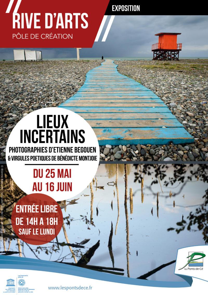 """Exposition """"Lieux incertains"""" - Rive d'Arts"""