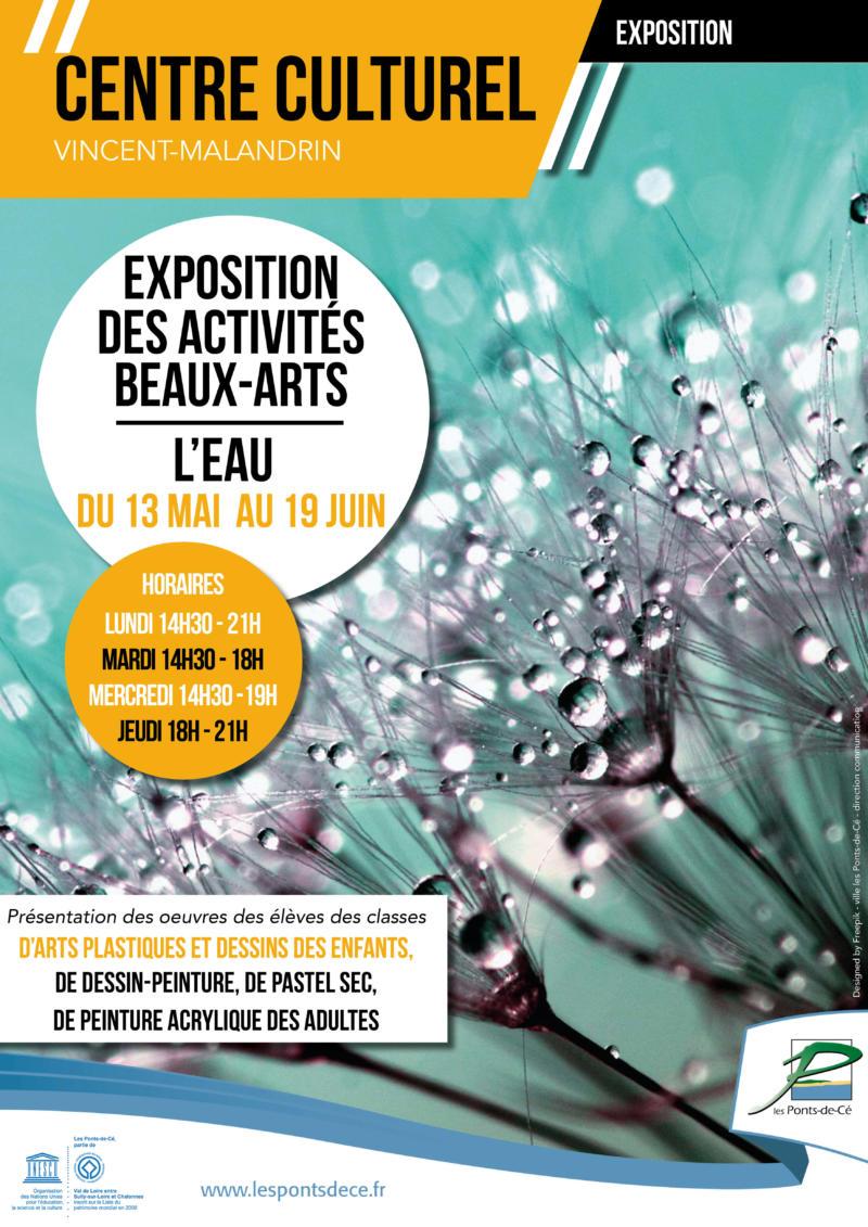 Exposition des activités Beaux-Arts