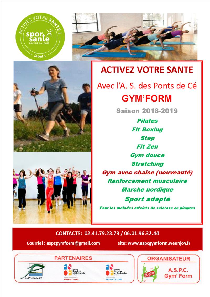 GYM FORM - PORTES OUVERTES - JUIN 2019