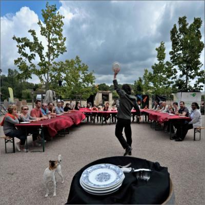 La musique d'assiette - spectacle participatif