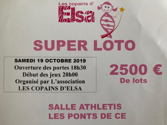 Super loto - association Les Copains d'Elsa