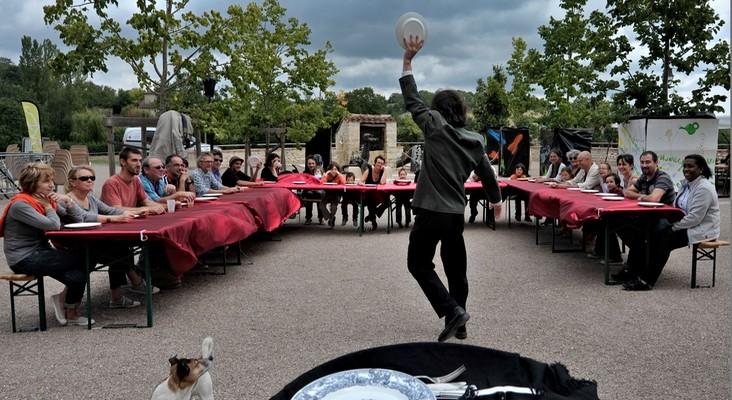 Spectacle participatif - La musique d'assiette