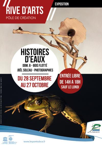 """Exposition """"Histoires d'eaux"""" - Rive d'Arts"""