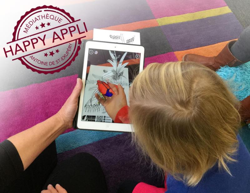Happy appli : jeux sur tablettes