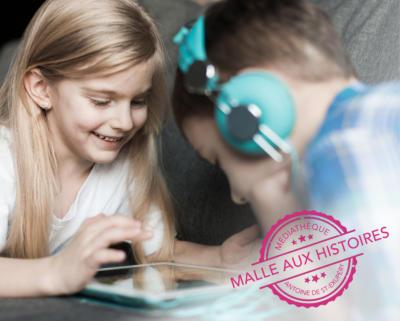 Malle aux histoires numérique