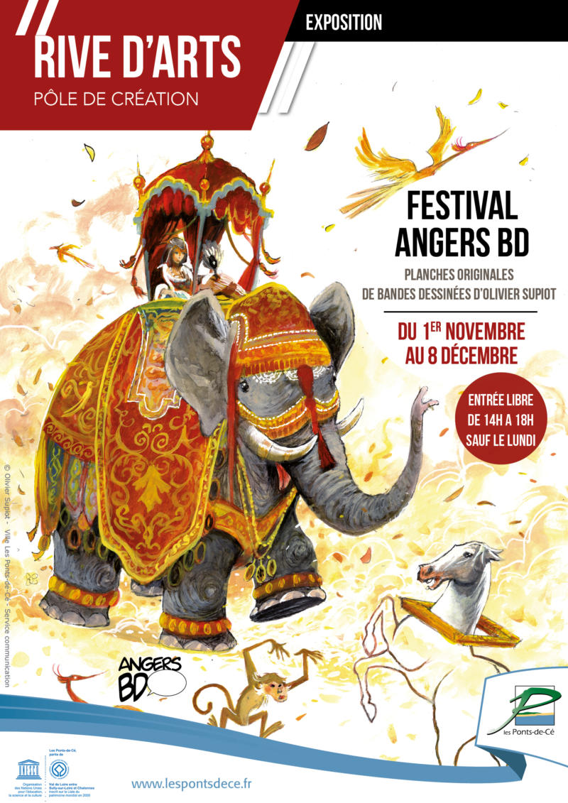 "Exposition ""Festival Angers BD"" - Rive d'Arts"