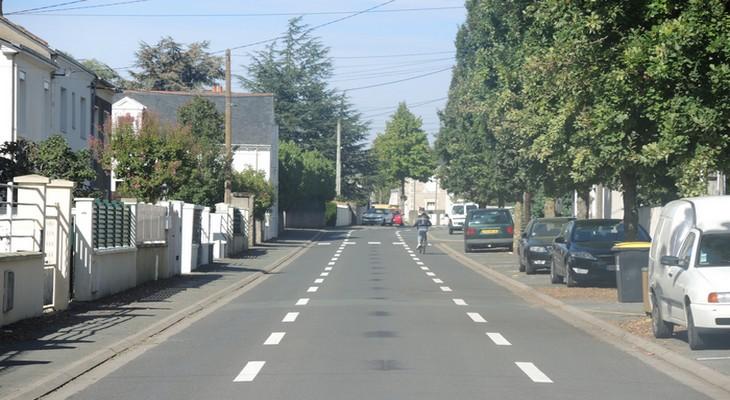 """Nouvel aménagement """"chaucidou"""" - rue Halopé Frères"""