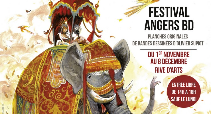 "Exposition ""Festival Angers BD"""