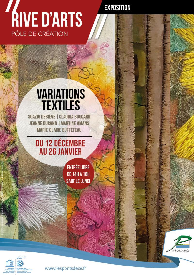 "Exposition ""Variations textiles"" - Rive d'Arts"
