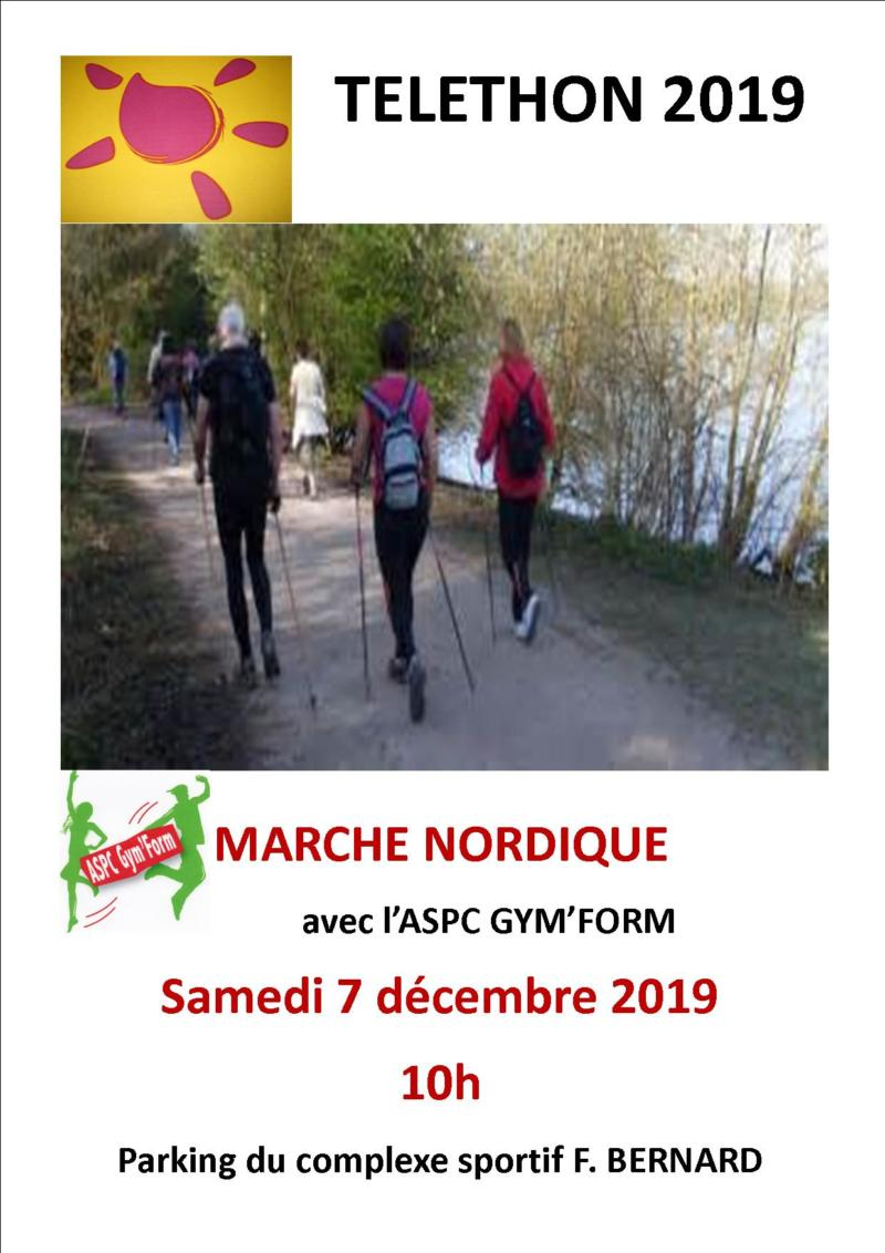 TELETHON 2019 - Marche Nordique - GYM FORM