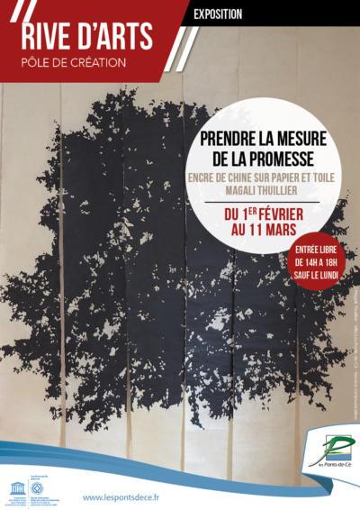 "Exposition ""Prendre la mesure de la Promesse"" de Magali Thuillier - Rive d'Arts"