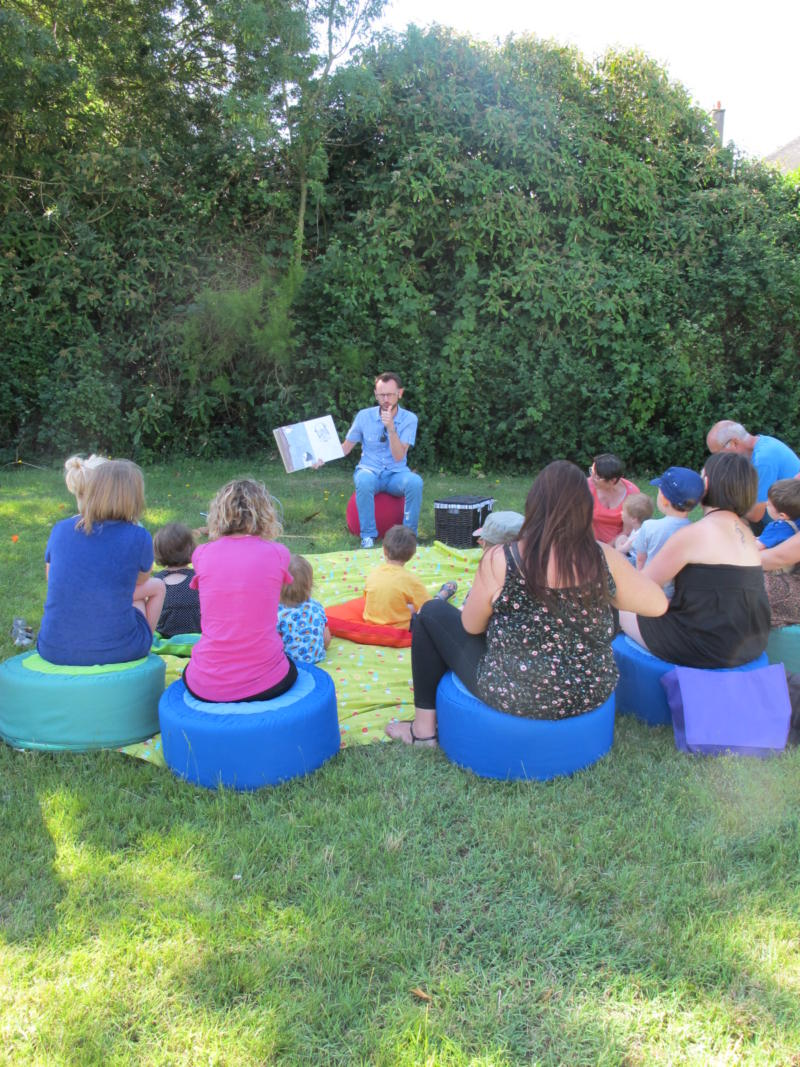 ANNULATION - Malle aux histoires au jardin