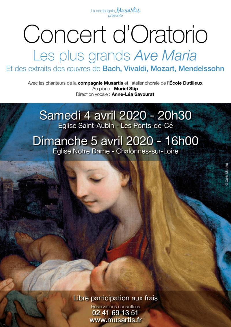 Annulation - Concert d'Oratorio