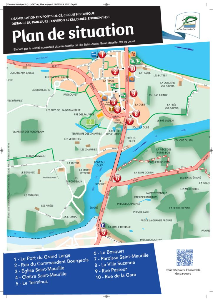 thumbnail of panneau plan St Maurille