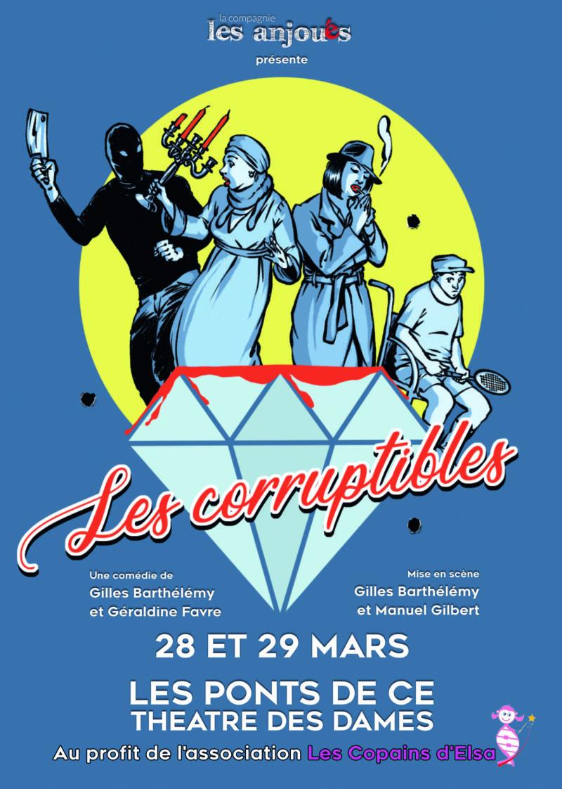 Annulation - Les corruptibles théâtre - association Les Copains d'Elsa