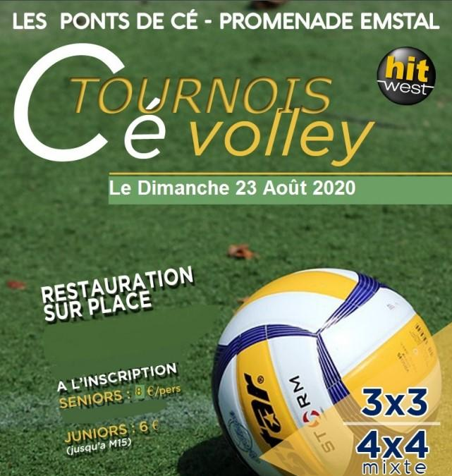 Tournoi Cé Volley