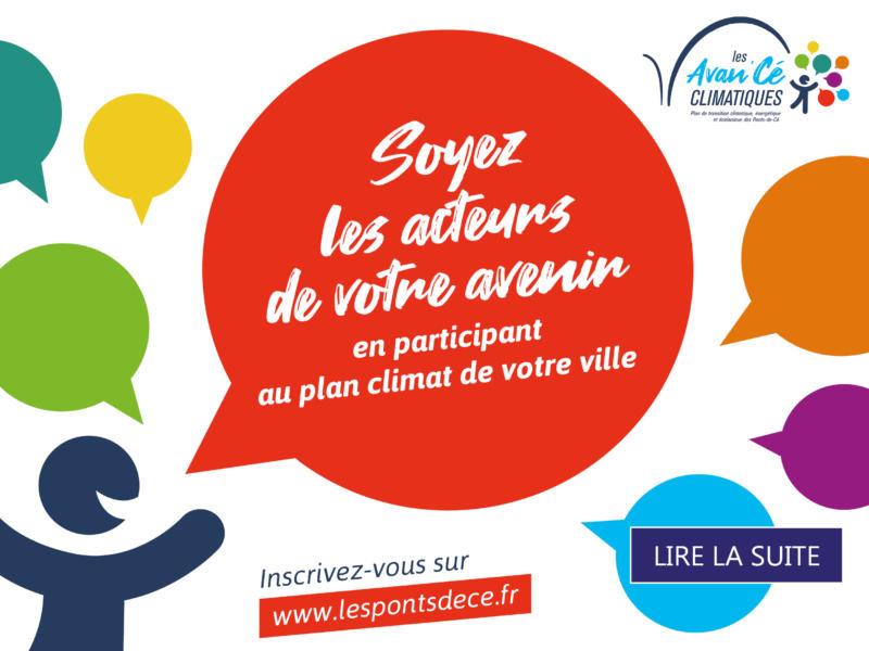 Réunion publique - Les Avan'Cé Climatiques