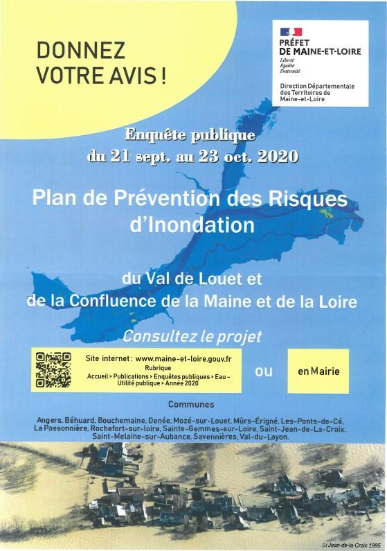 Enquête publique - plan de prévention des risques inondations