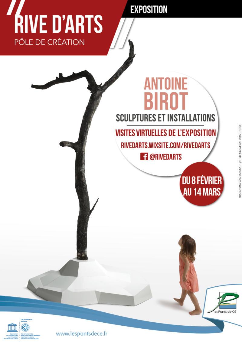 Exposition d'Antoine Birot - Sculptures et Installations   Rive d'Arts