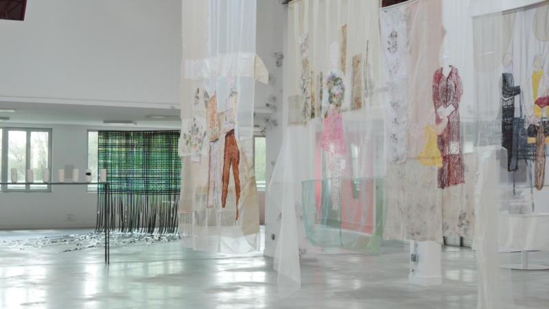"""Exposition """"Passages textiles"""" - Rive d'Arts"""