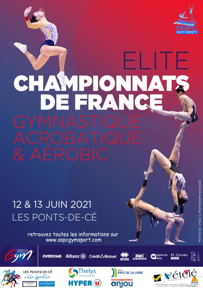Championnat de France ELITE de Gymnastique Acrobatique et Aérobic