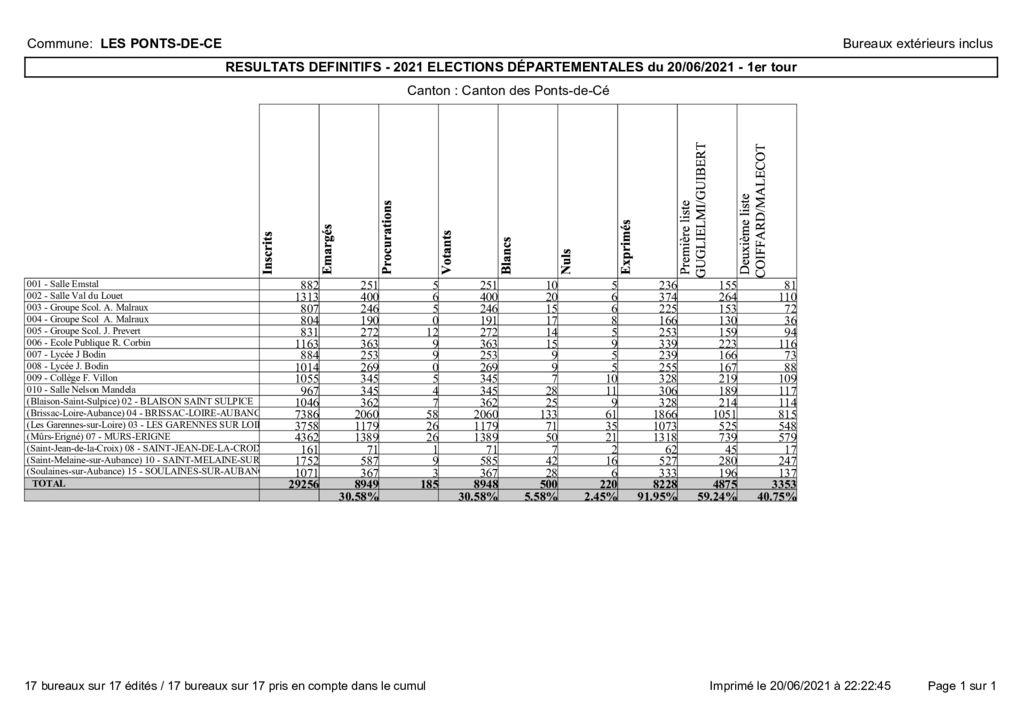 thumbnail of Résultats élections départementales 2021